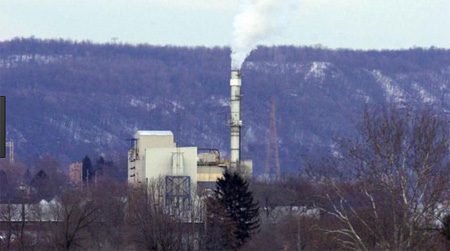 Incinerator In East Liverpool Ohio Belching Smoke