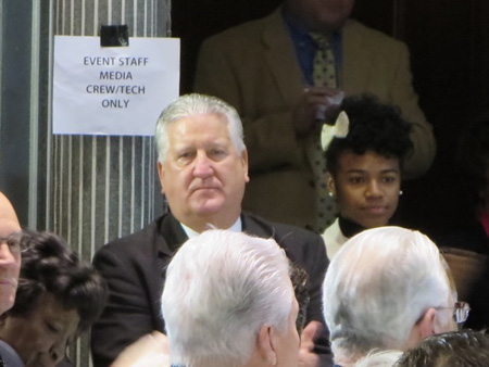 Former Mayor Jerry Jennings At Kathy Sheehan's Inauguration, 2014