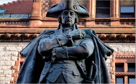 General Philip Schuyler In Front Of Albany City Hall