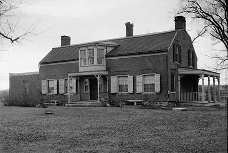 The House At Schuyler Flatts That Burned In 1962