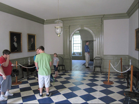 The Main Room Downstairs At The Schuyler Mansion, Albany