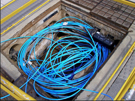 What State-Owned Fiber Optic Cable Pits Are Supposed To Look Like