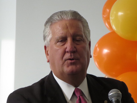 Jerry Jennings In 2013 At The End Of His Fourth Term