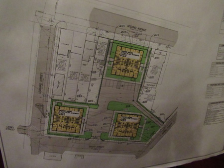 Site Plan (Click on the photo to see it a little better)
