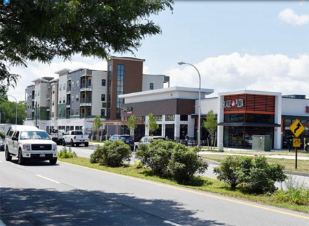 "Sprawl Suburb Clifton Park Is Attempting To Construct A Walkable ""Town Center"", Photo From Last Year"