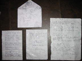 Contents of Envelope