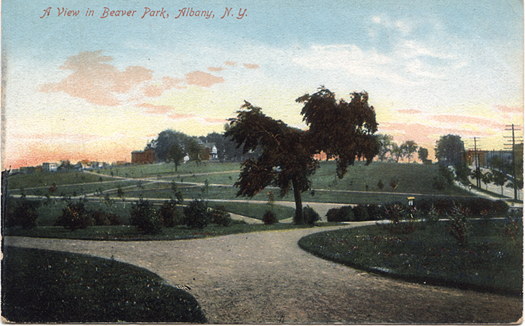 Lincoln Park About 100 Years Ago