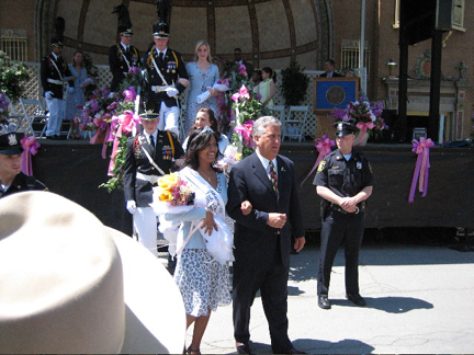 Amisha Gomes, crowned Tulip Queen 2007