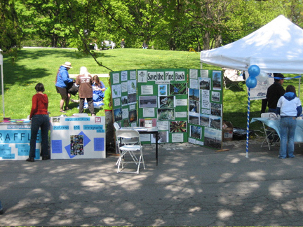 Save the Pine Bush display